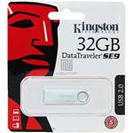 PEN DRIVE 32GB KINGSTON DTSE9H SILVER MICRO