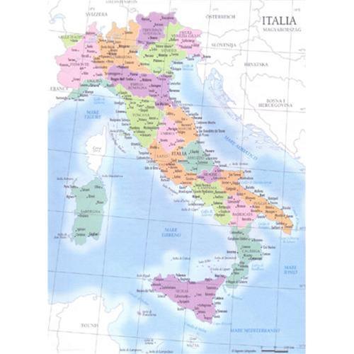 Cartina Politica E Fisica Italia.Elettrocart Elettronica E Cancelleria Scheda Prodotto 09343 Carta Geografica A4 Italia Fisica Politica Cwr Mappamondi E Cartine Cartine Geografiche