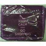 MESSENGER TRACOLLA ORIZZ. KEEP CALM AND GO SHOPPING